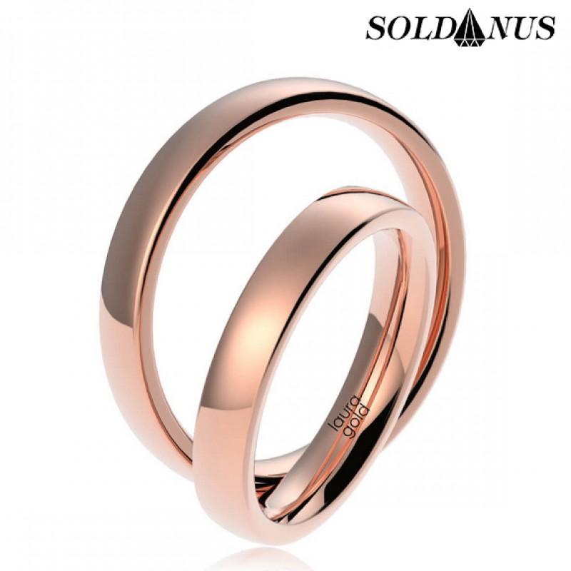Svadobné obrúčky zlaté (gold ring) 015