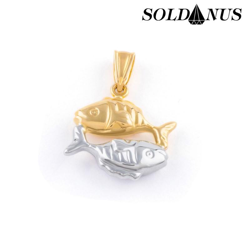 Zlatý prívesok znamenie ryby