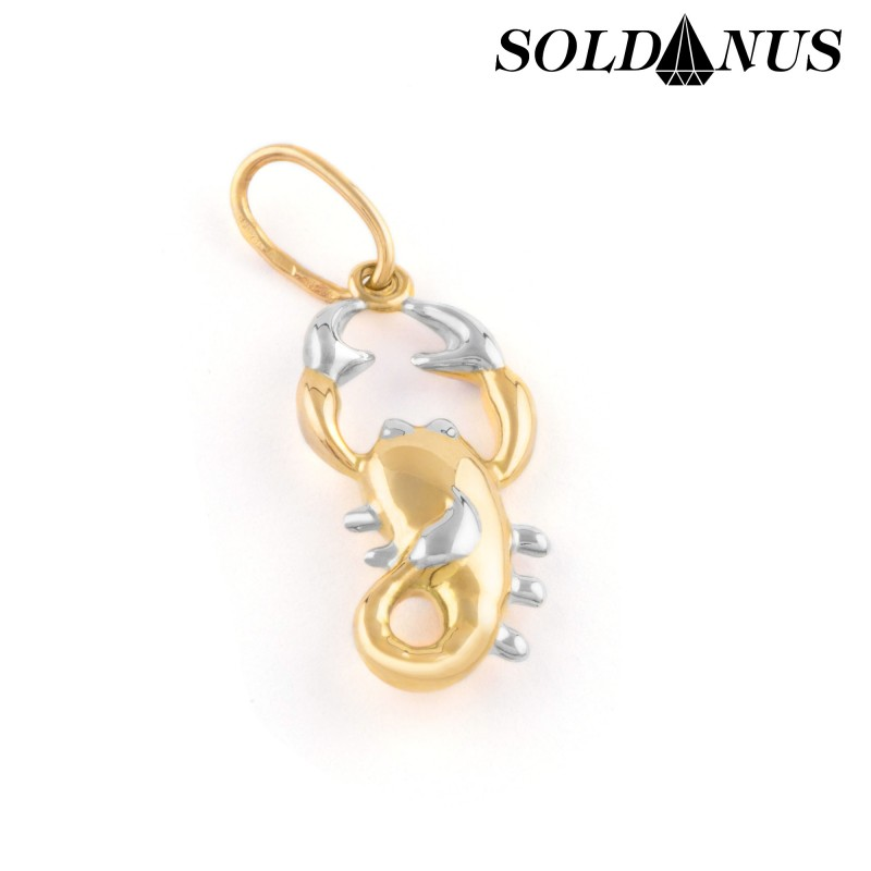 Zlatý prívesok znamenie škorpión