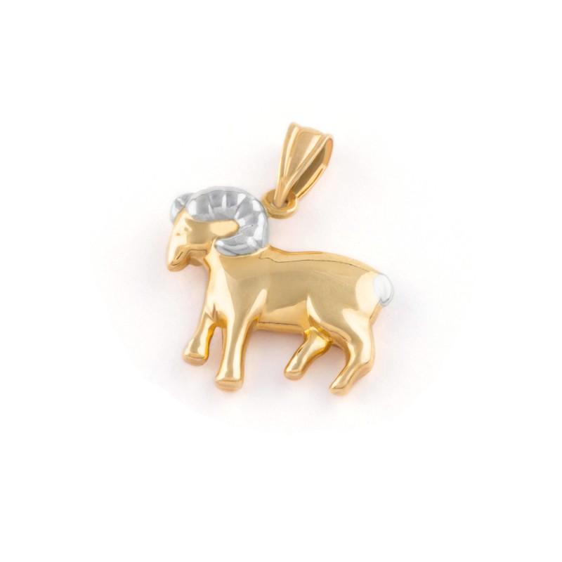 Zlatý prívesok znamenie baran