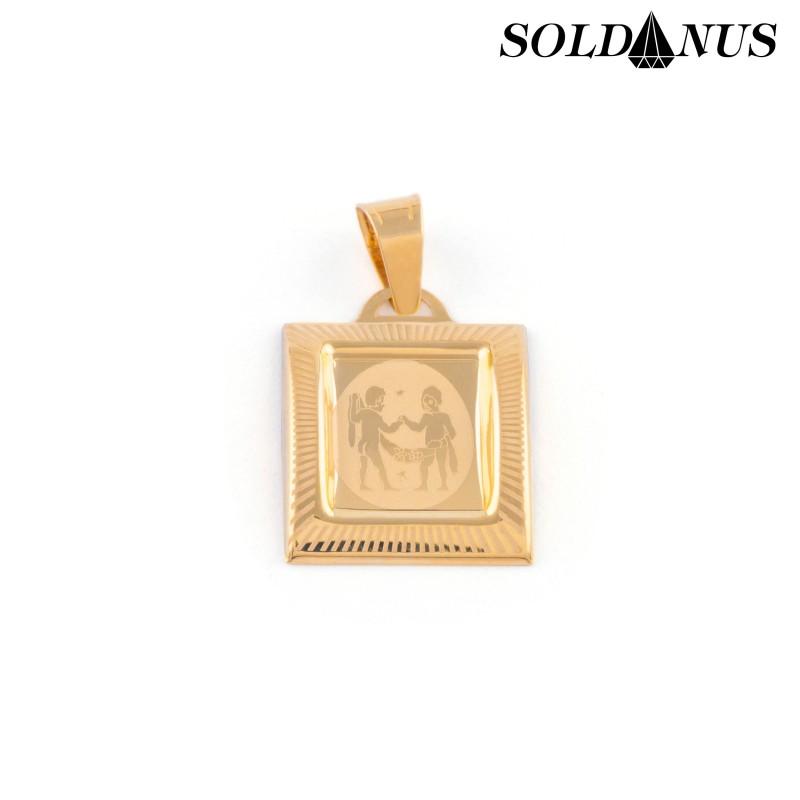 Zlatý prívesok znamenie blíženci