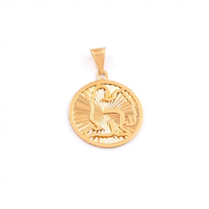 Zlatý prívesok znamenie vodnár