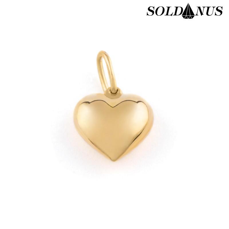 Zlatý prívesok srdce