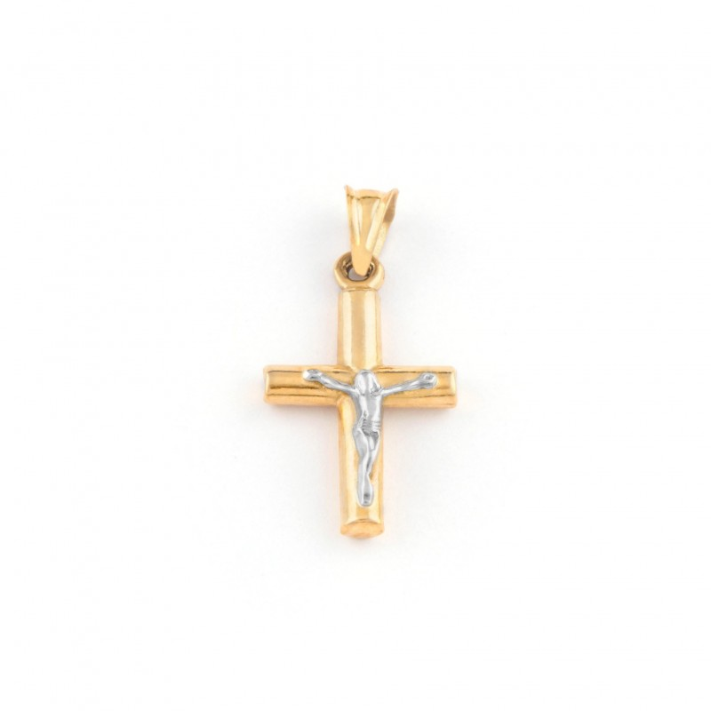Zlatý prívesok krížik