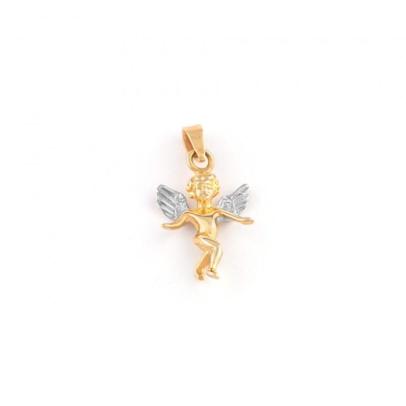 Zlatý prívesok anjelik