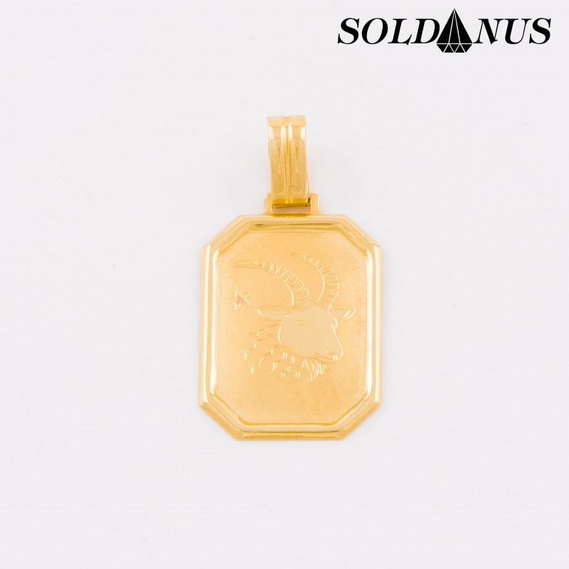 Zlatý prívesok znamenie kozorožec