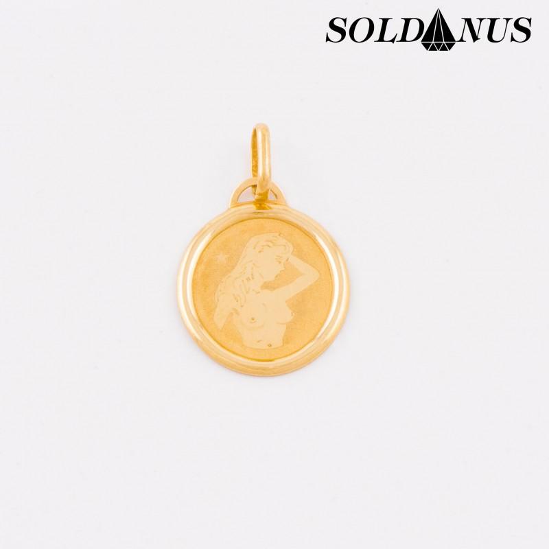 Zlatý prívesok znamenie Panna