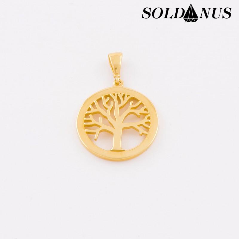 Zlatý prívesok Strom života