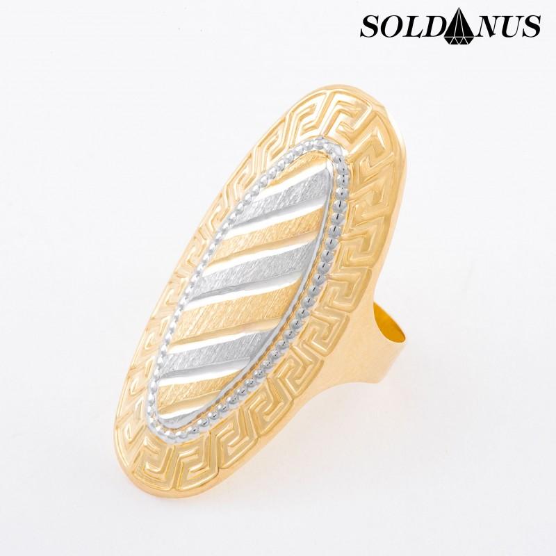 Zlatý prsteň dvojfarebný