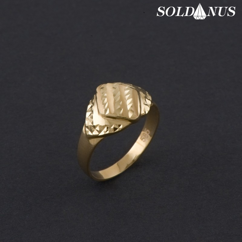Zlatý prsteň 53mm