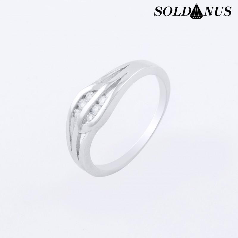 Strieborný prsteň 50mm