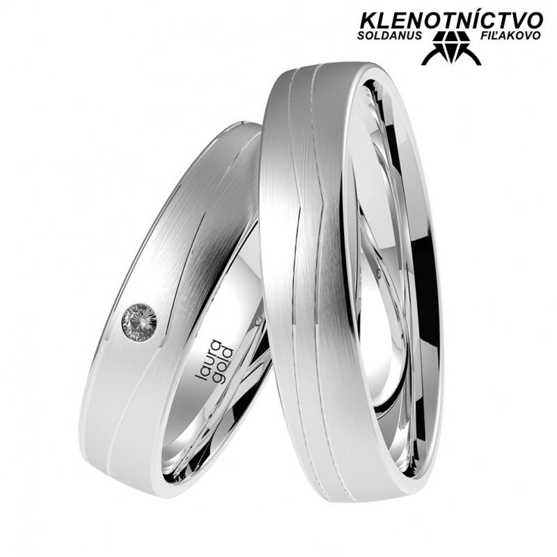 Svadobné obrúčky zlaté (gold ring) 1051