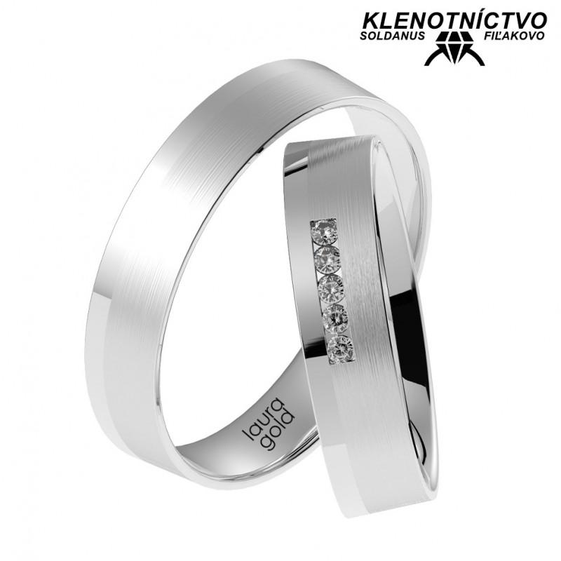 Svadobné obrúčky zlaté (gold ring) 1052