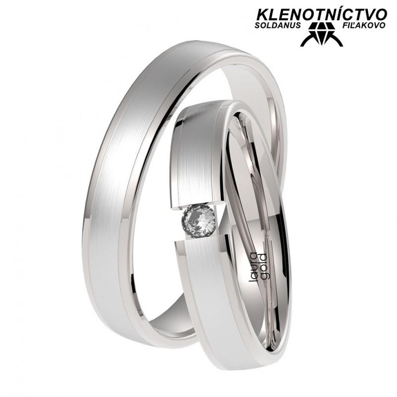 Svadobné obrúčky zlaté (gold ring) 1054