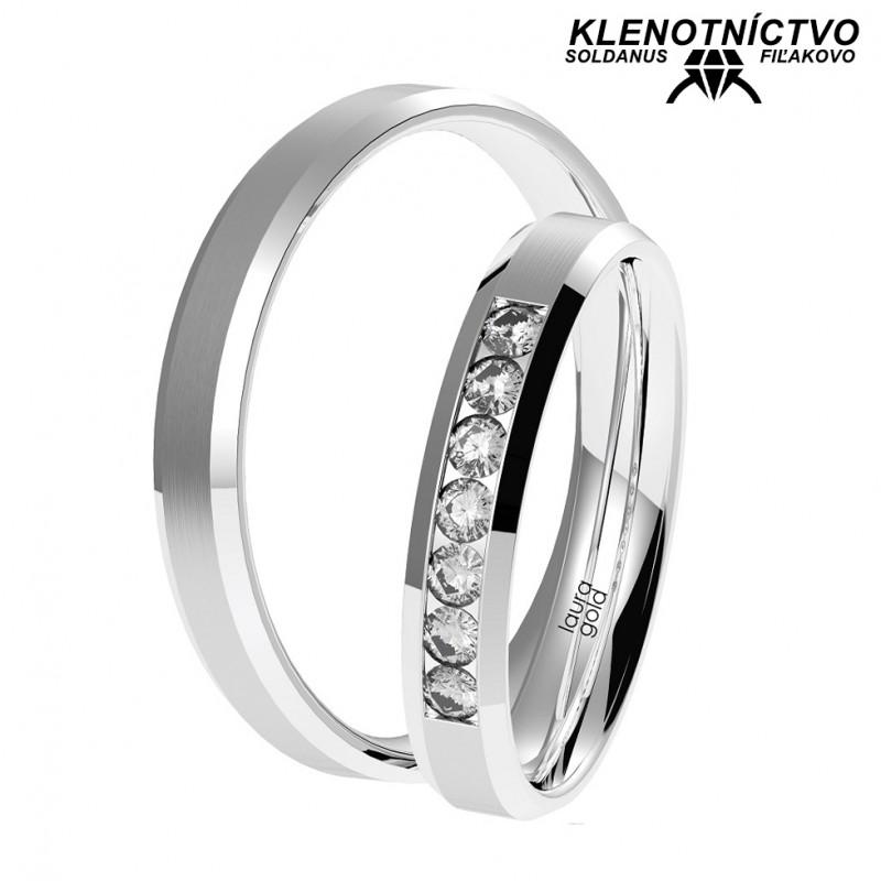 Svadobné obrúčky zlaté (gold ring) 1057