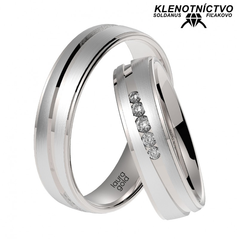 Svadobné obrúčky zlaté (gold ring) 1058