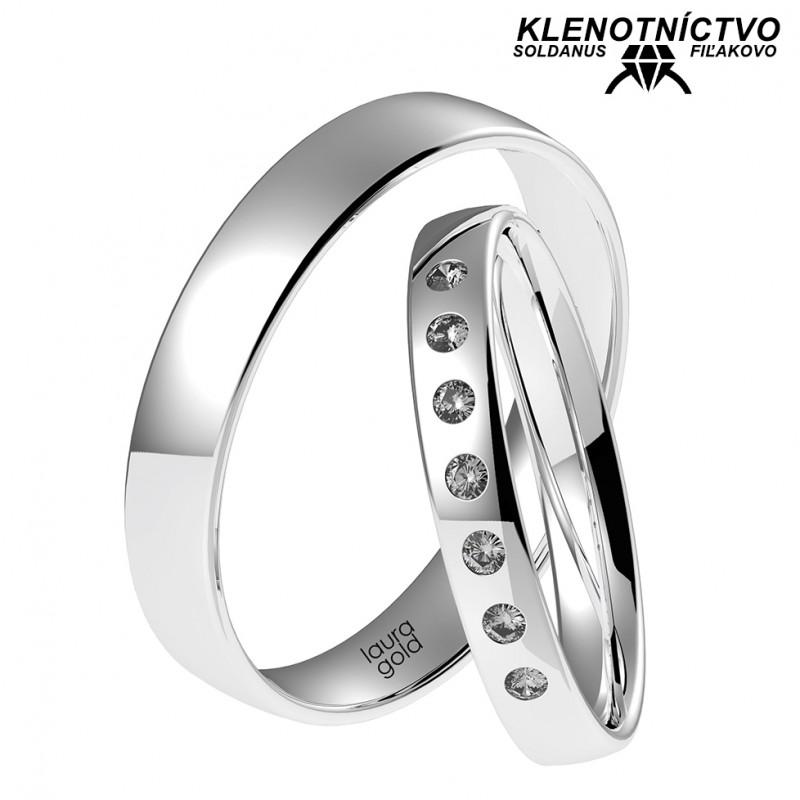 Svadobné obrúčky zlaté (gold ring) 1059