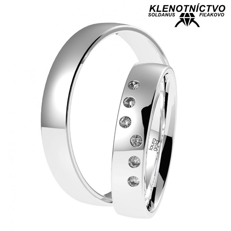 Svadobné obrúčky zlaté (gold ring) 1060