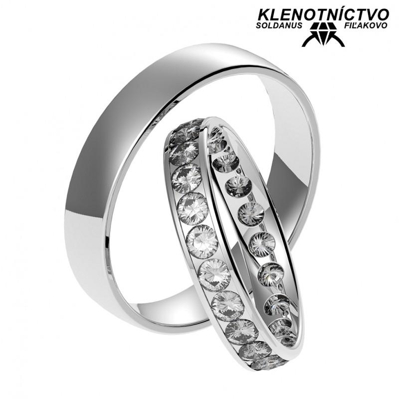 Svadobné obrúčky zlaté (gold ring) 1061