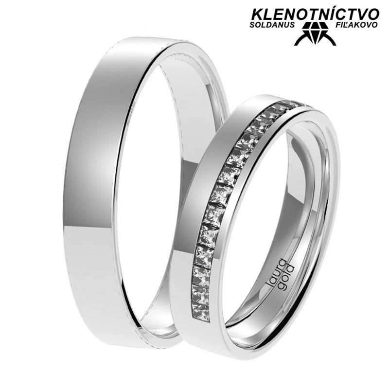 Svadobné obrúčky zlaté (gold ring) 1062