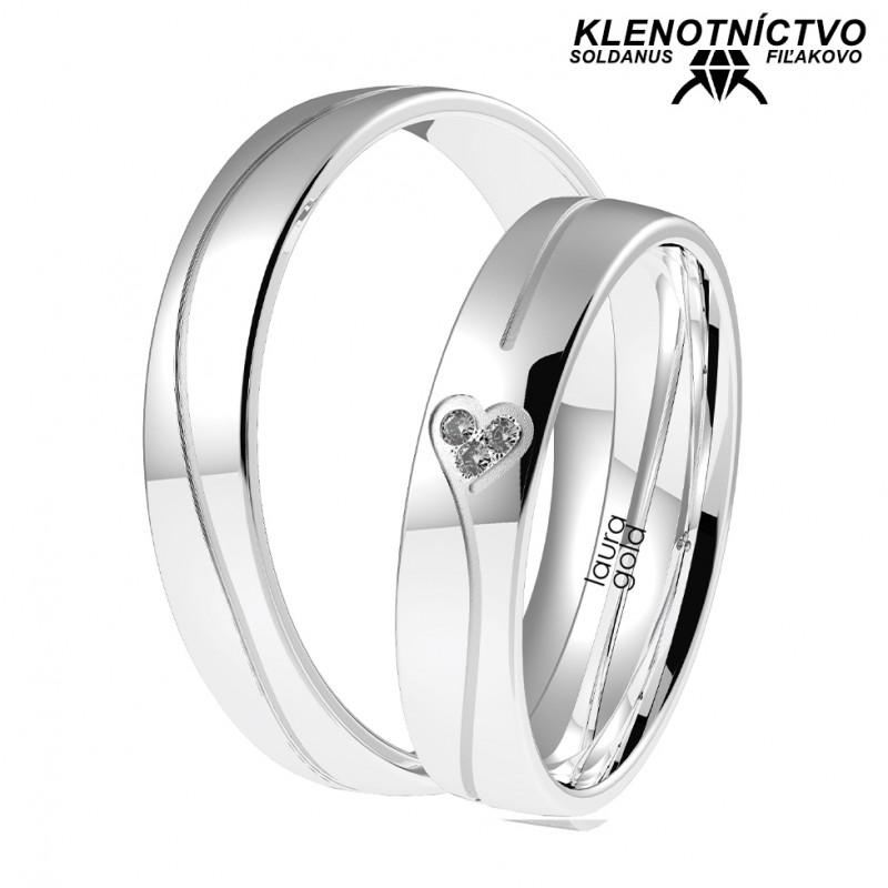 Svadobné obrúčky zlaté (gold ring) 1065