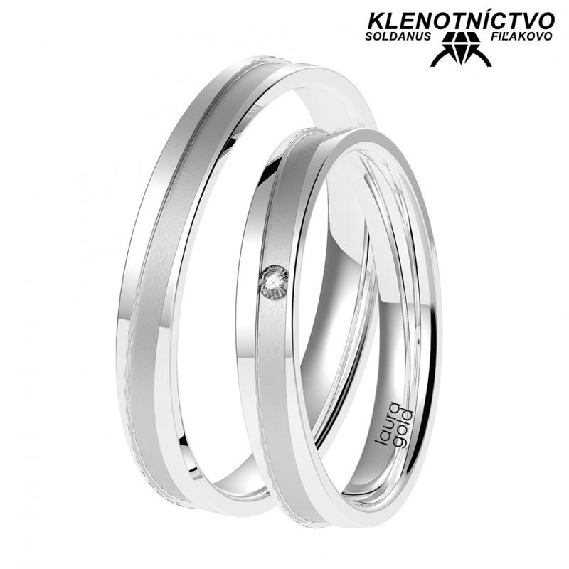 Svadobné obrúčky zlaté (gold ring) 1069