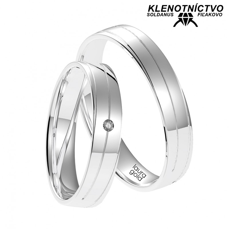 Svadobné obrúčky zlaté (gold ring) 1071