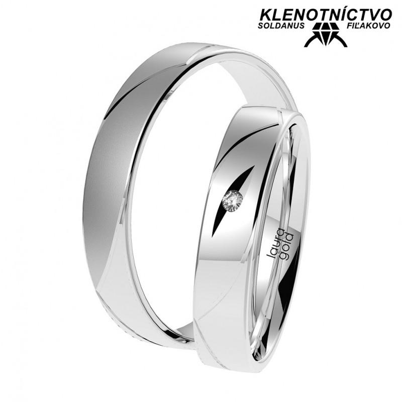 Svadobné obrúčky zlaté (gold ring) 1072