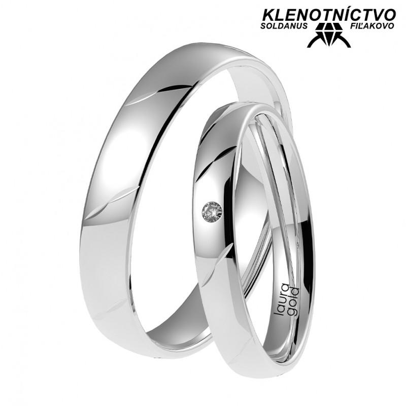Svadobné obrúčky zlaté (gold ring) 1073