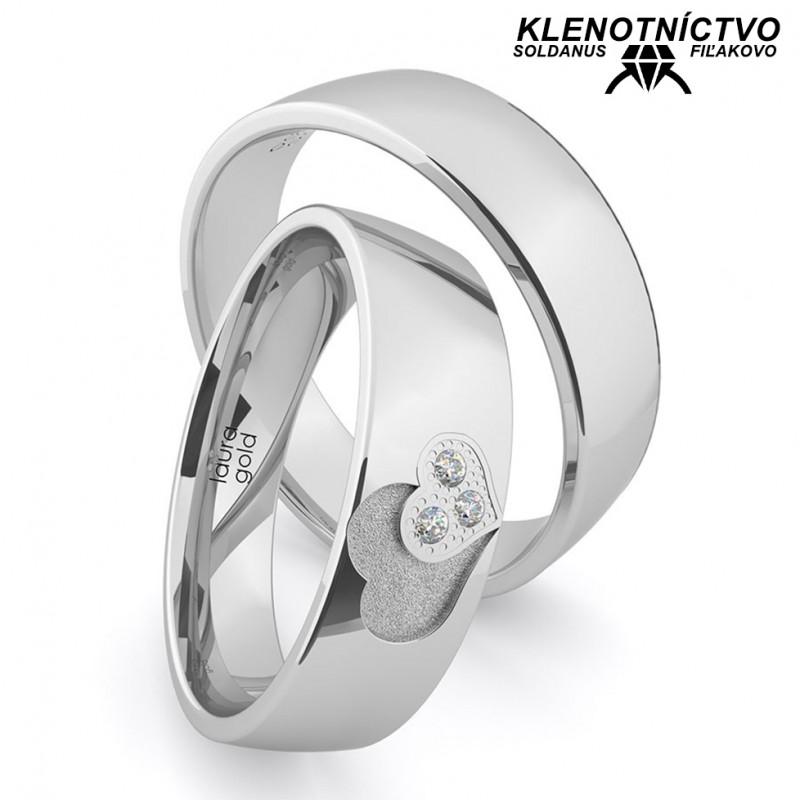 Svadobné obrúčky zlaté (gold ring) 1156