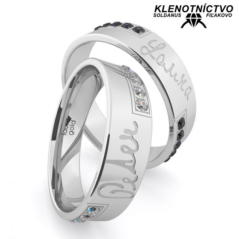 Svadobné obrúčky zlaté (gold ring) 1157