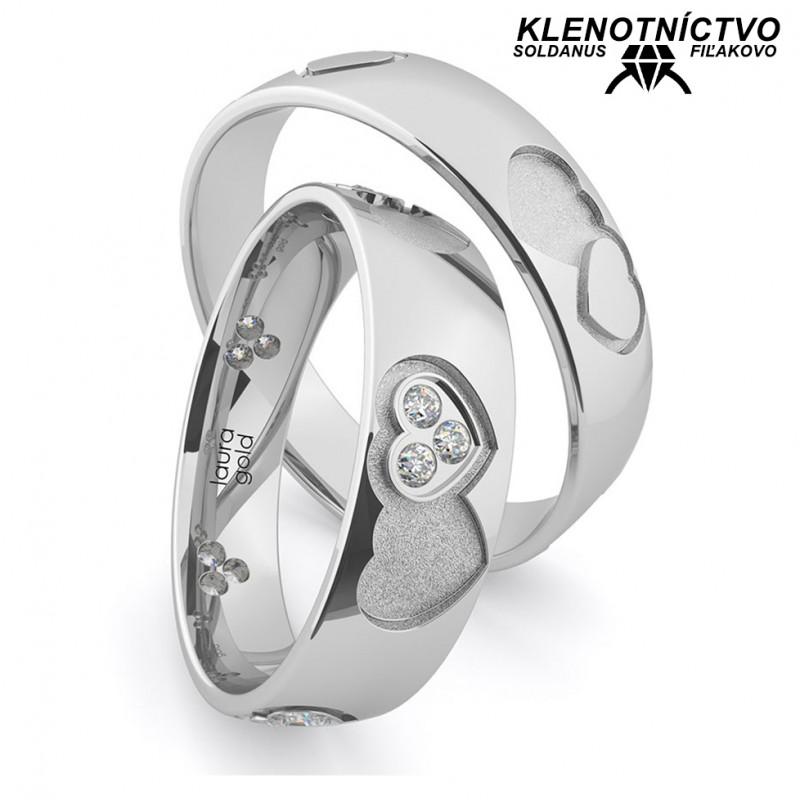 Svadobné obrúčky zlaté (gold ring) 1168