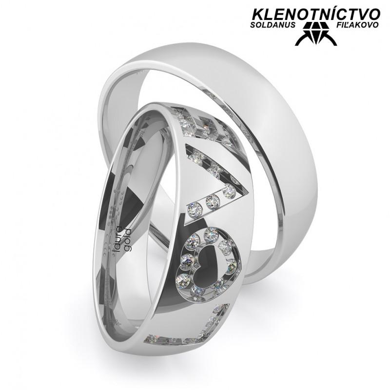 Svadobné obrúčky zlaté (gold ring) 1170