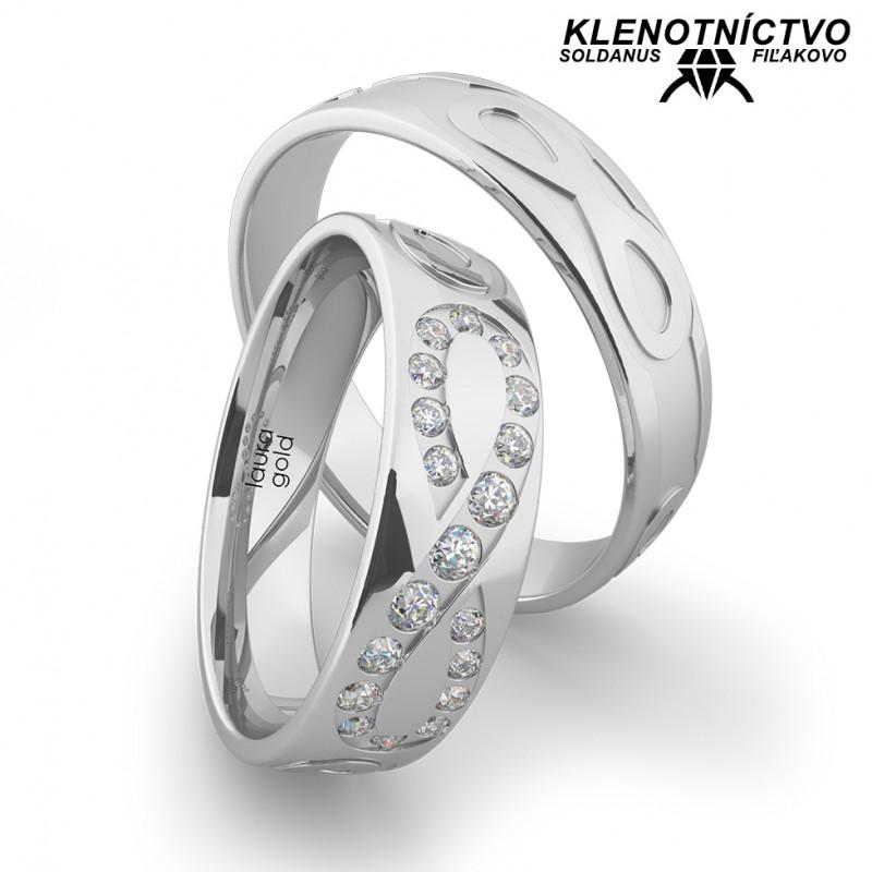 Svadobné obrúčky zlaté (gold ring) 1171