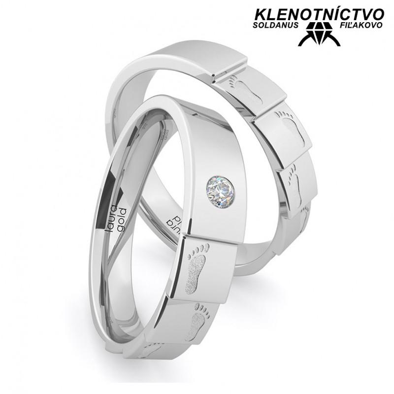 Svadobné obrúčky zlaté (gold ring) 1172