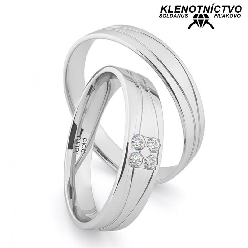 Svadobné obrúčky zlaté (gold ring) 1200