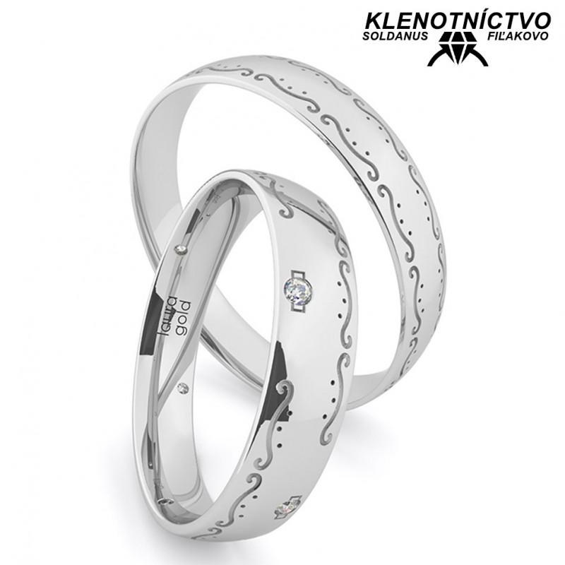 Svadobné obrúčky zlaté (gold ring) 1202