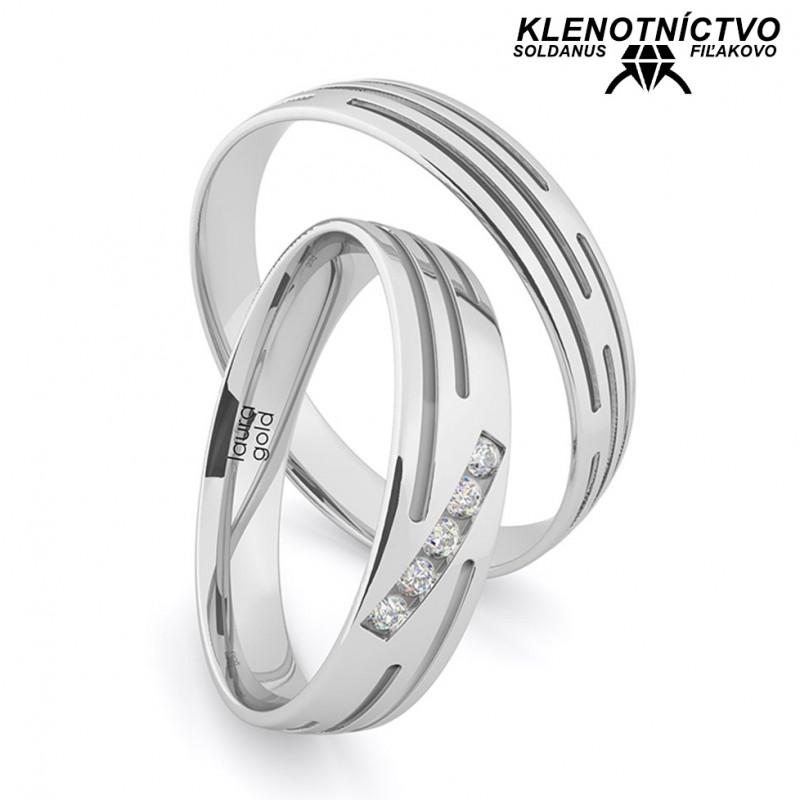 Svadobné obrúčky zlaté (gold ring) 1205