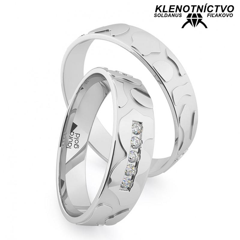 Svadobné obrúčky zlaté (gold ring) 1206