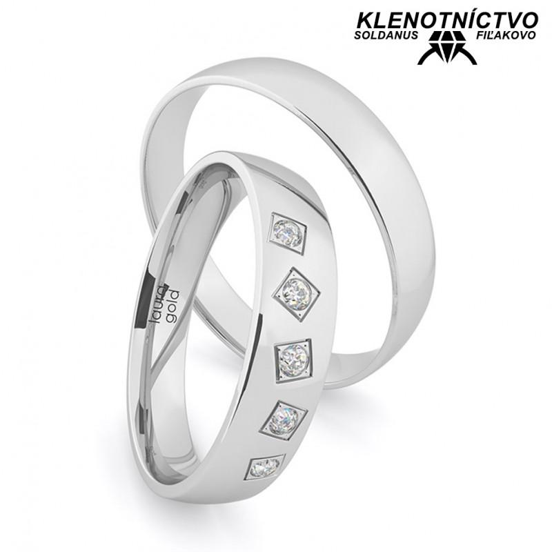 Svadobné obrúčky zlaté (gold ring) 1210