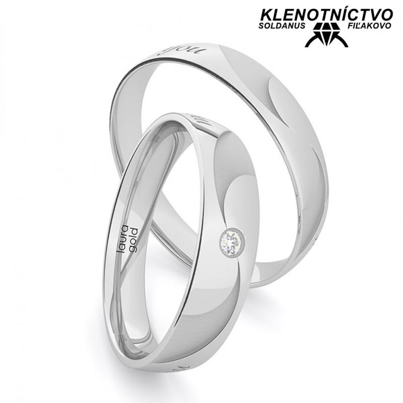 Svadobné obrúčky zlaté (gold ring) 1212