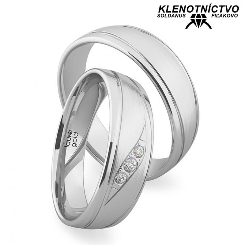 Svadobné obrúčky zlaté (gold ring) 1213