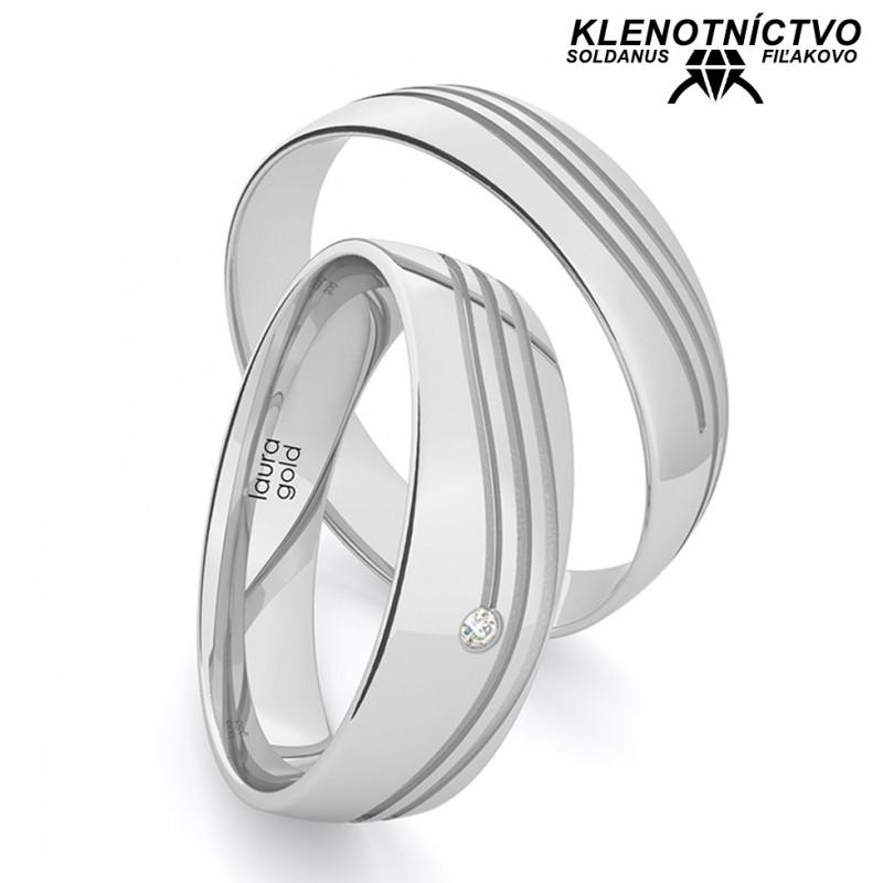 Svadobné obrúčky zlaté (gold ring) 1216