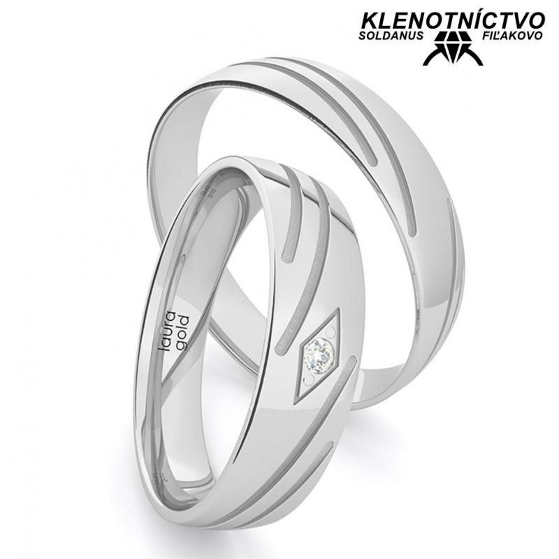Svadobné obrúčky zlaté (gold ring) 1217