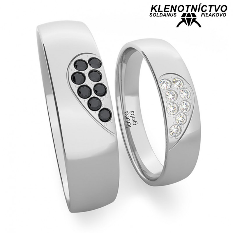 Svadobné obrúčky zlaté (gold ring) 1221