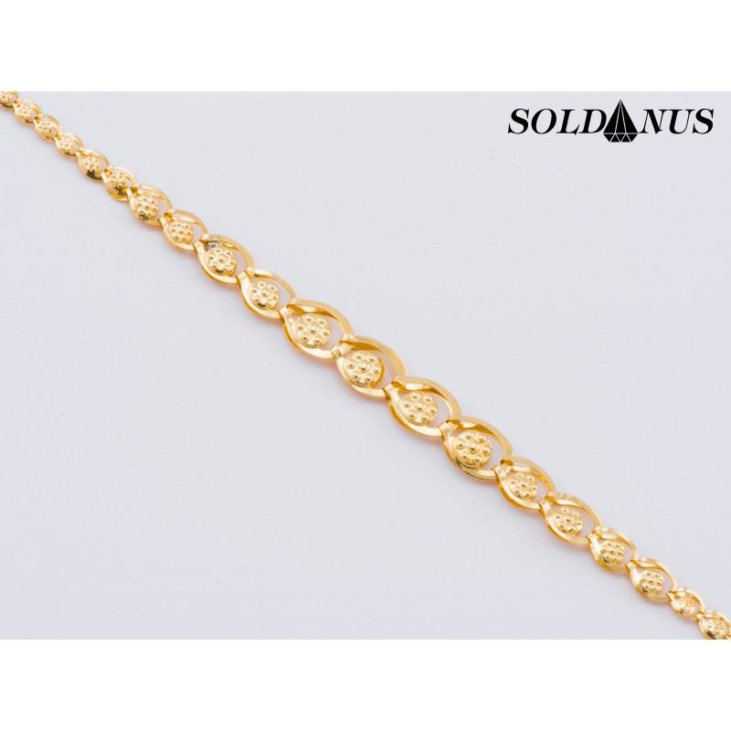 Zlatý náramok 190mm