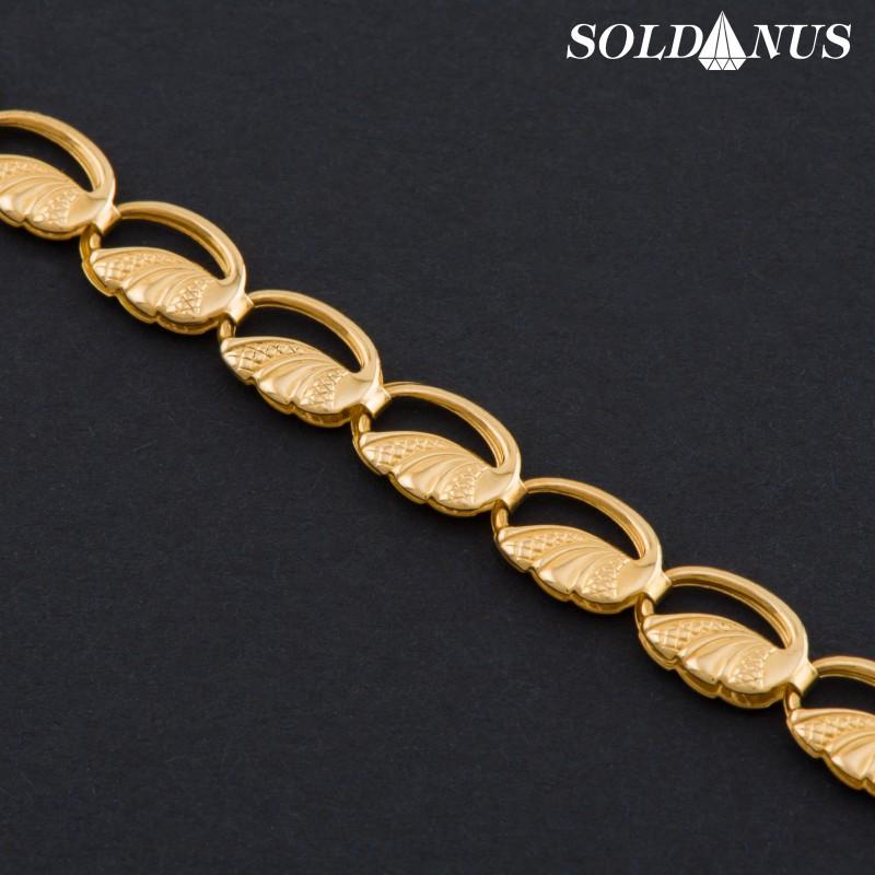 Zlatý náramok 200mm