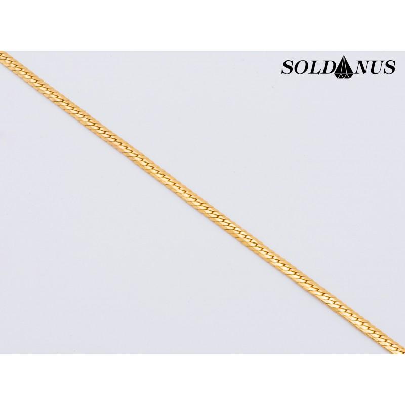 Zlatý náramok 210mm