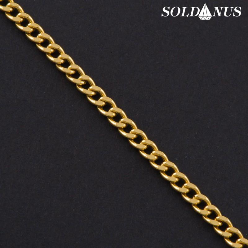Zlatý náramok 210mm pánsky