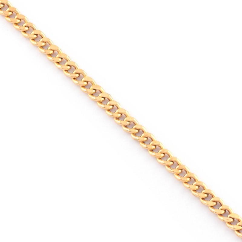 Zlatý náramok 21cm
